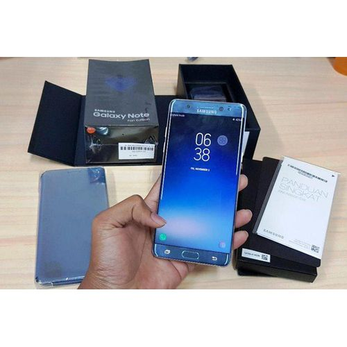 Jual Samsung Galaxy Note Fe 64gb Blue Coral Bekas